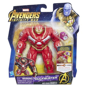 Avengers: Infinity War Hulkbuster with Infinity Stone 6-Inch Action Figure
