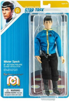 Mr. Spock Star Trek Mego 8-Inch Retro Action Figure