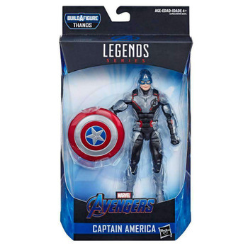 Avengers Marvel Legends Captain America (Quantum Realm Suit) 6-Inch Action Figure
