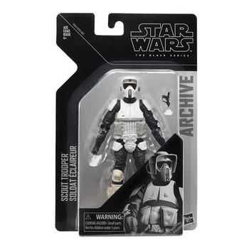 Star Wars The Black Series Archive Biker Scout 6-Inch Figure