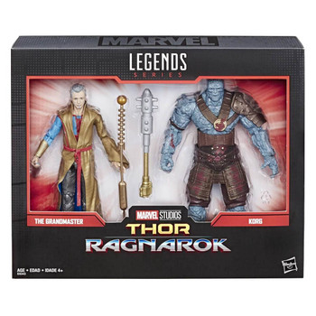 Marvel Comics 80th Anniversary Marvel Legends Grandmaster and Korg 6-Inch Action Figures 2-Pack