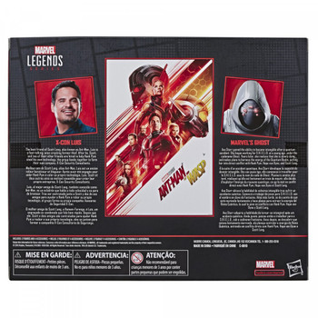 Marvel Comics 80th Anniversary Marvel Legends Ghost & Luis 6-Inch Figures 2-Pack