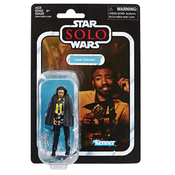 Star Wars The Vintage Collection Lando Calrissian (Solo) Action Figure