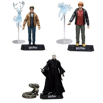 Harry Potter Series 1 Complete Set of 3 7-Inch Action Figures