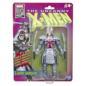X-Men Retro Marvel Legends Silver Samurai 6-Inch Action Figure