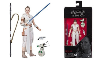 Star Wars Black Series #91 Rey & D-O
