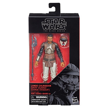 Star Wars The Black Series Lando Calrissian (Skiff Guard) 6-Inch Action Figure #76