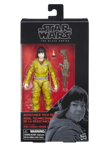 Star Wars The Black Series Resistance Tech Rose 6-Inch Action Figure #55