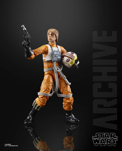 Star Wars Black Series Archive Luke Skywalker 6-Inch Action Figure