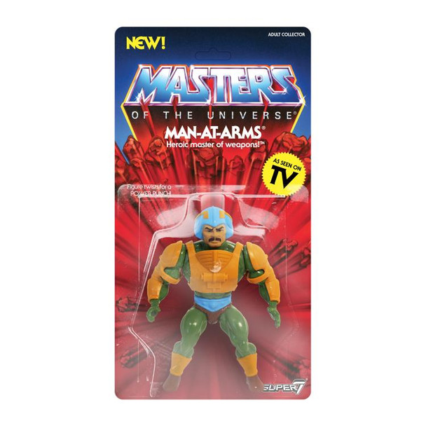 Masters of the Universe Man-At-Arms 5 1/2-Inch Action Figure