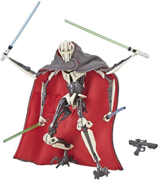 Star Wars The Black Series General Grievous Deluxe 6-Inch Action Figure