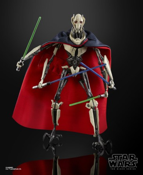 Star Wars The Black Series General Grevious Deluxe 6-Inch Action Figure