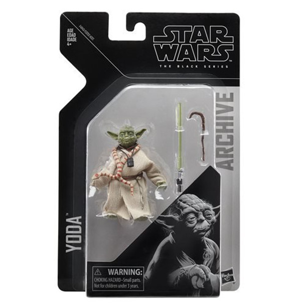 Star Wars The Black Series Archive Yoda 6-Inch Figure