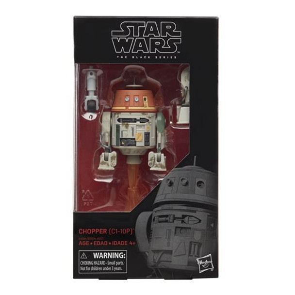 Star Wars The Black Series Chopper 6-Inch Figure