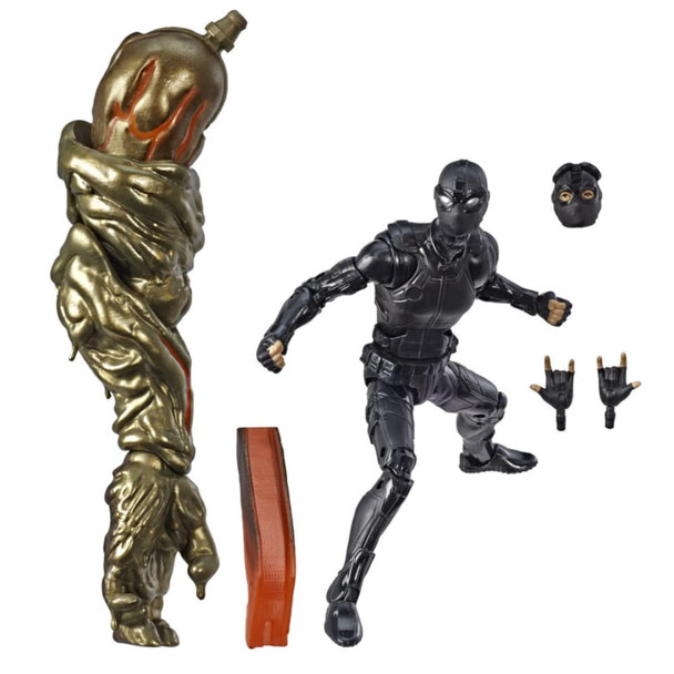 Spider-Man Far from Home Marvel Legends 6-Inch Stealth Suit Spider-Man Action Figure