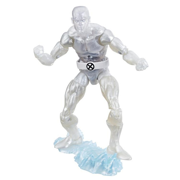 X-Men Retro Marvel Legends Iceman 6-Inch Action Figure