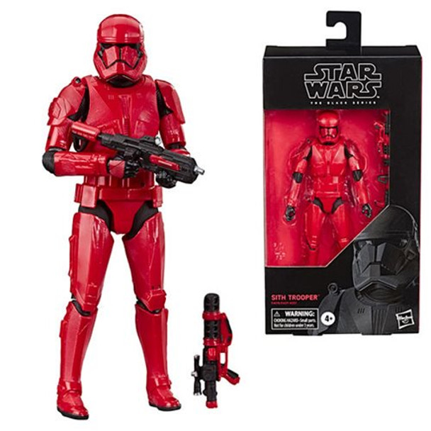Star Wars Episode IV: The Rise of the Skywalker The Black Series Sith Trooper 6-Inch Action Figure