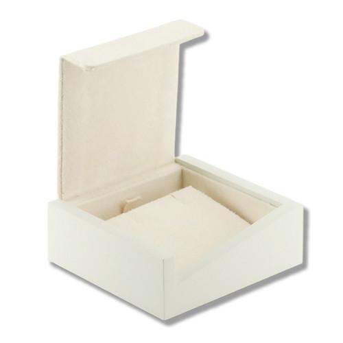 3204 Series High Quality Matte Wood & Chamel Earring Box
