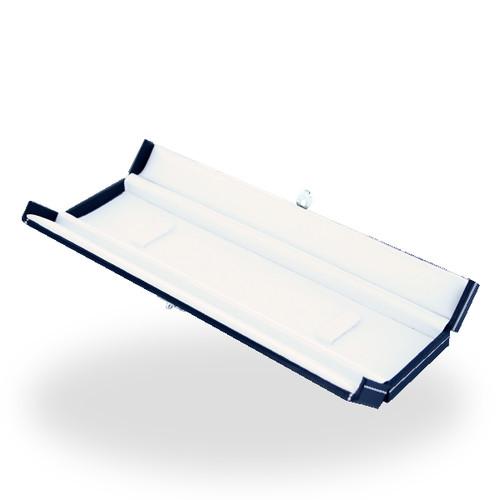 715 High Quality Leatherette 2 Doors Bracelet Box