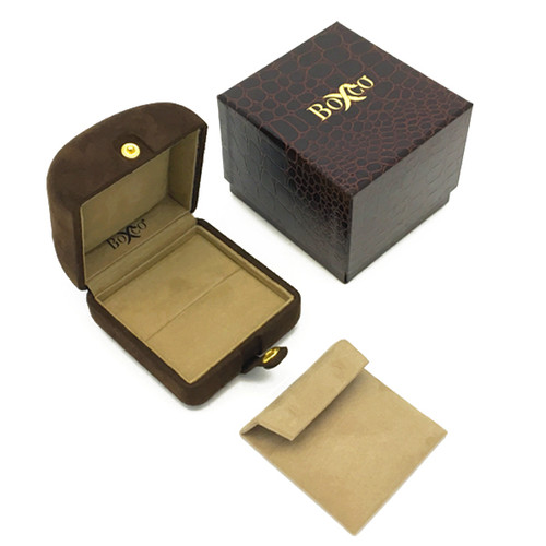 7600 Series High Quality Charisma Suede Ring and Earring Box