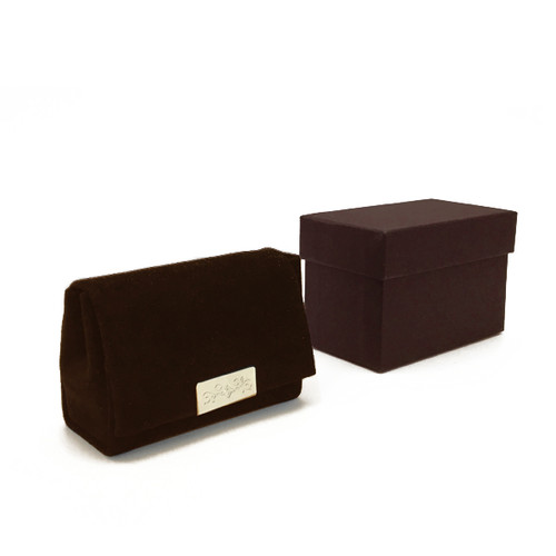 RP68SS-Custom Silsuede Ring Pouch