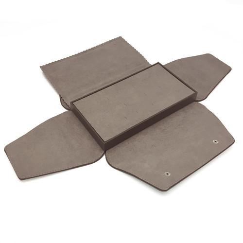 LSDFL-R8 Custom High Quality Leather & Charisma Suede Multi Ring Display Folder