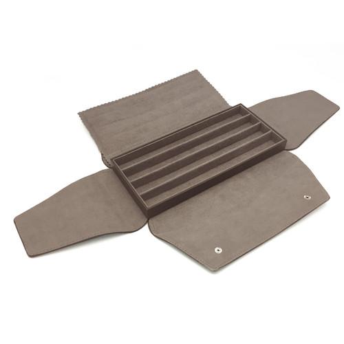 LSDFL-BR4 Custom High Quality Leather & Charisma Suede Multi Bracelet Display Folder