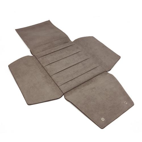 LSDFL-EAR8 Custom High Quality Leather & Charisma Suede Multi Earring Display Folder