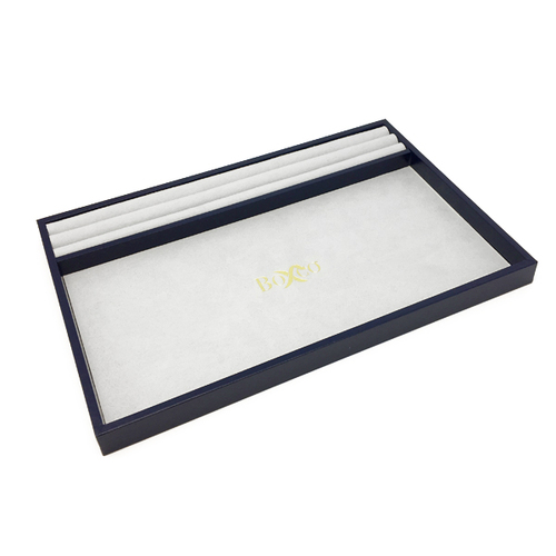 RNGTRY-310-2 Custom Presentation Tray Covered with Leatherette & Charisma