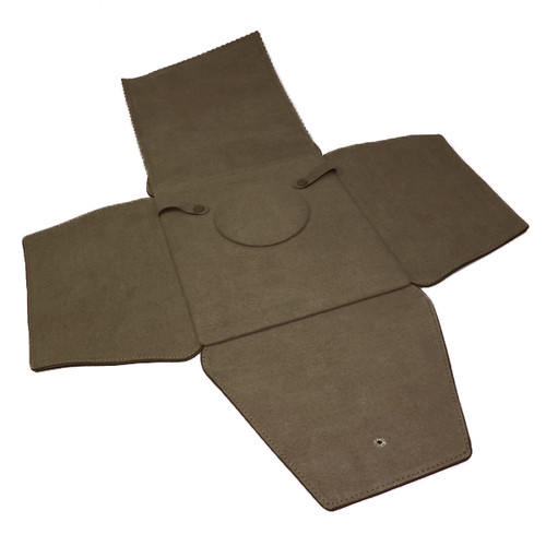 LSFL20 Custom High Quality Leather & Charisma Suede Large Necklace Folder