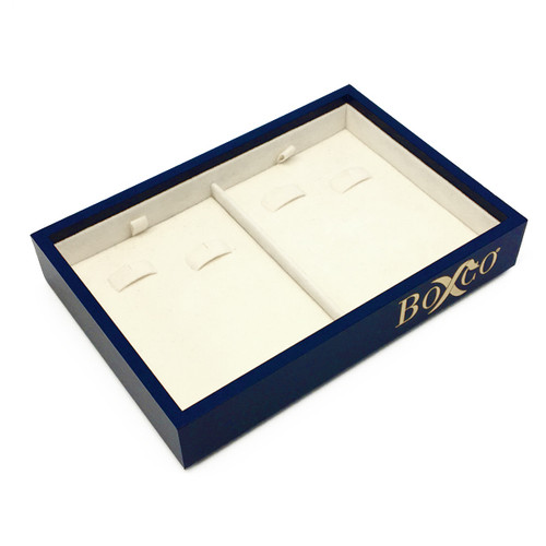 LTRSS Custom High Quality Leatherette & Silsuede Earring Display Tray