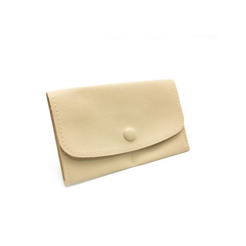 LLRP2 High Quality Faux Leather Button Pouches