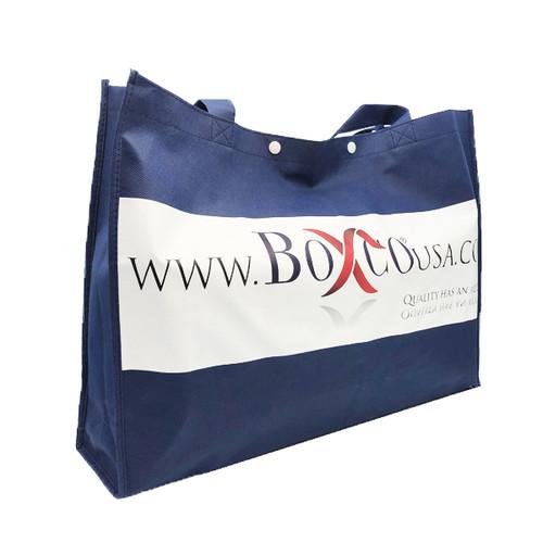 Logo Print Shopping Bag