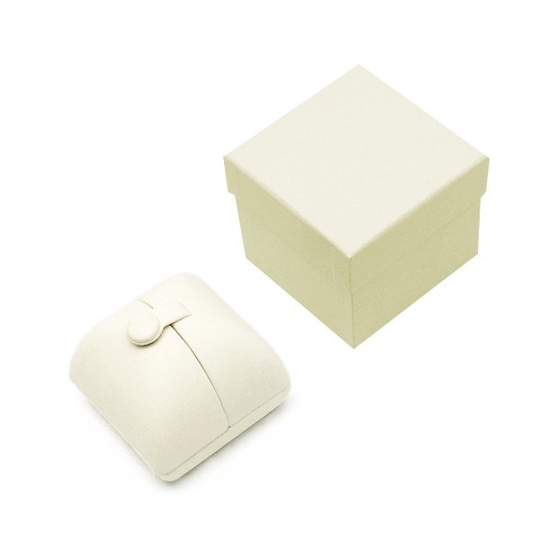 8200 Series Custom High Quality Nabuka Ring Box