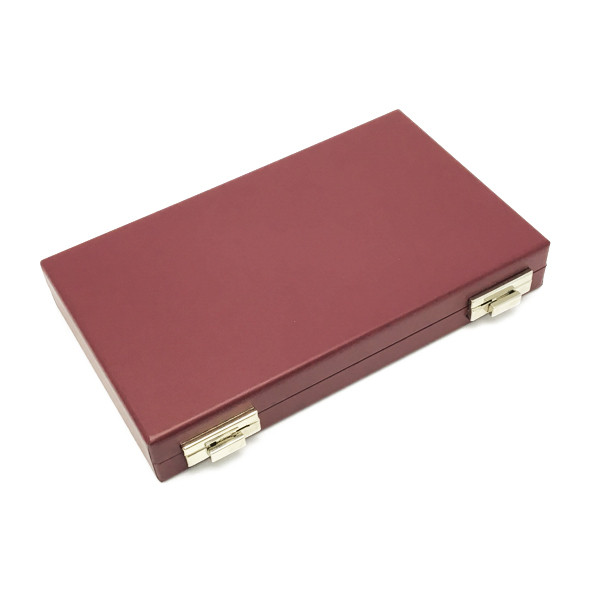 GMCS-120-5 Custom Gem Case Covered with Leatherette & Silsuede