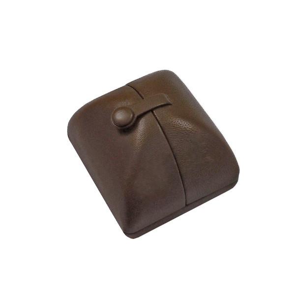 8403 Series Custom High Quality Leather & Prestige Suede Ring Box