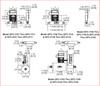 Series GFC Gas Mass Flow Controller - Dimensions.