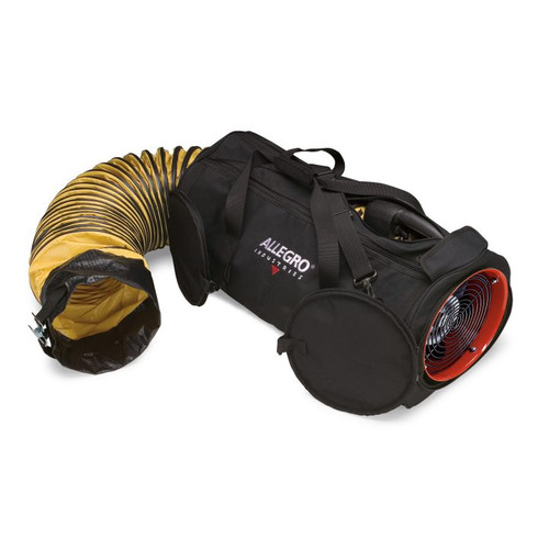 "8"" DC Air Bag with 15' Ducting, 26 lbs"
