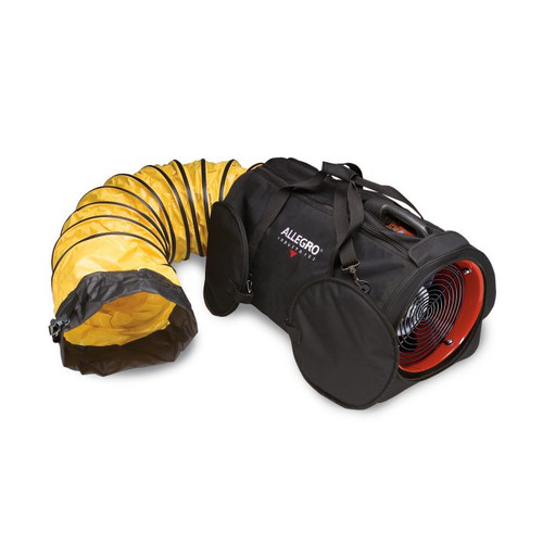 "12"" DC Air Bag with 15' Ducting, 36 lbs"
