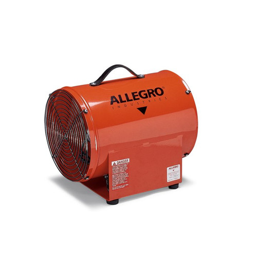 12″ Axial AC High Output Metal Blower (9509-50)