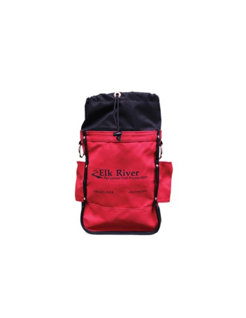 Heavy Duty Bolt Bag Red Drawstring top ,belt tunnel