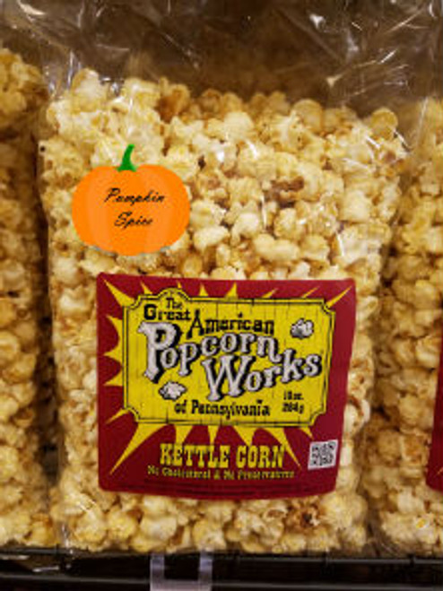 Pumpkin Spice Kettle Corn - 12oz bag