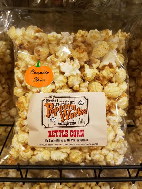 Pumpkin Spice Kettle Corn - 3oz bag