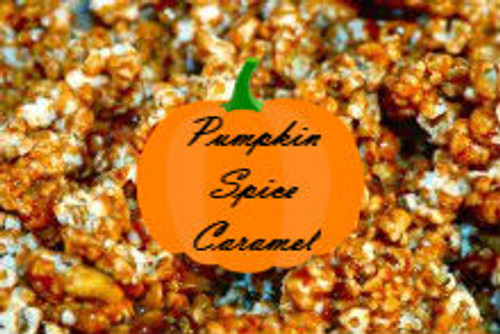 Pumpkin Spice Caramel  - Our Famous Caramel complemented with a great pumpkin taste. A real fall taste treat.