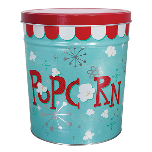 Popcorn Blast Tin - 6.5 Gallon