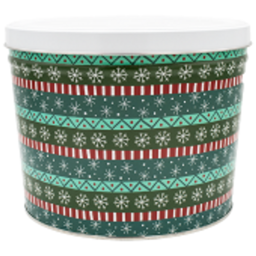 Gift Wrap Tin - 2 Gallon