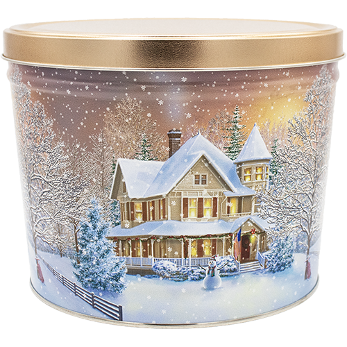 Home For The Holidays Tin - 2 Gallon