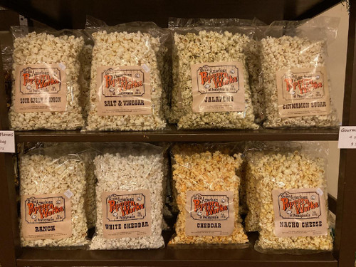 Case of 12 - 4oz Bags of Popcorn - Pick One Gourmet Flavor