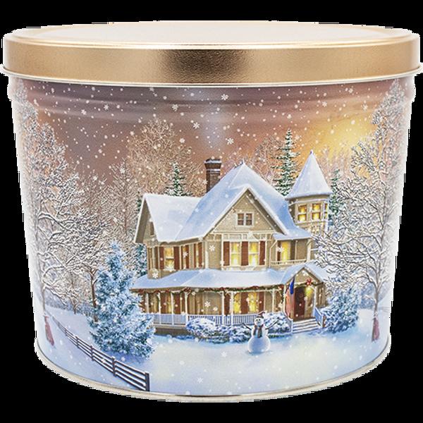 Home For The Holidays Tin - 2 Gallon