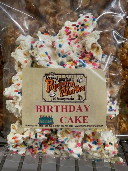 Birthday Cake Popcorn - All Natural Popcorn